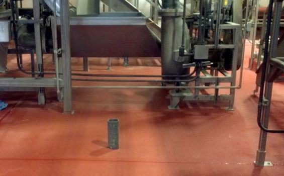 pickling facility flooring