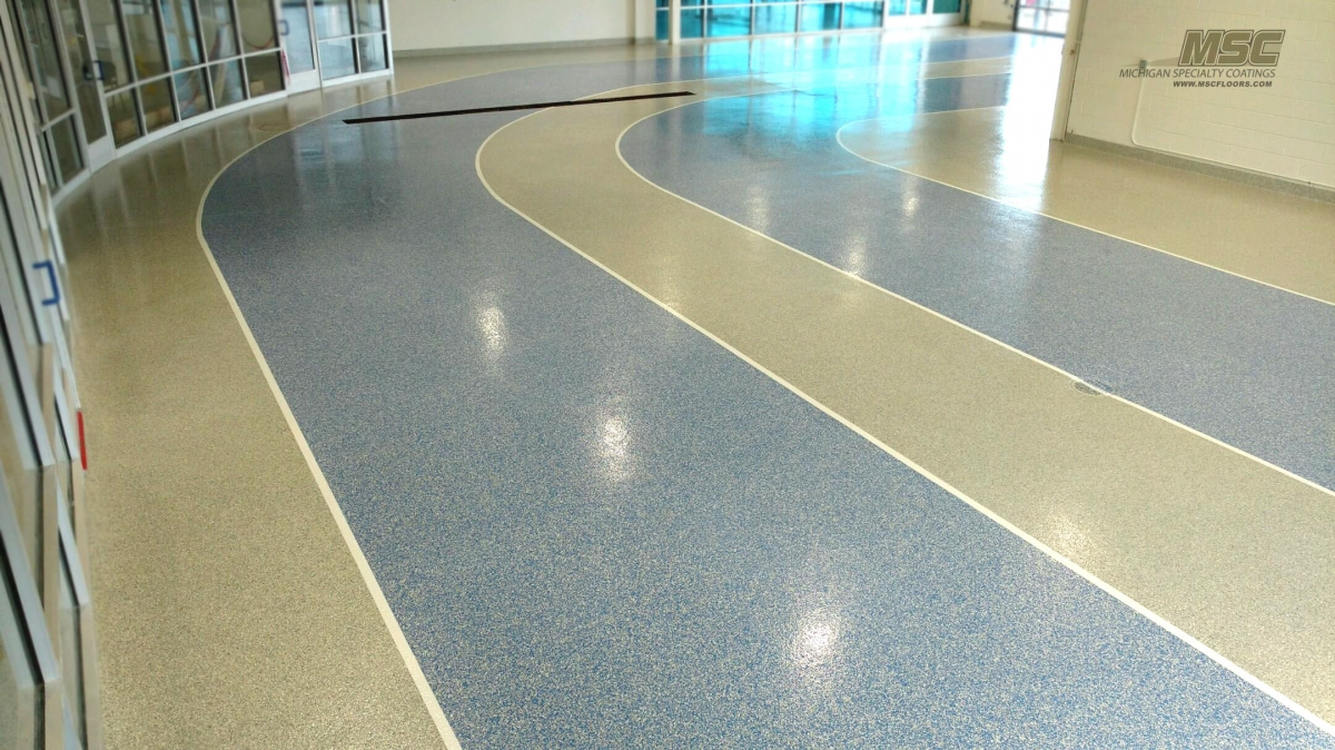 Showcase of commercial and industrial flooring solutions for Flooring solutions