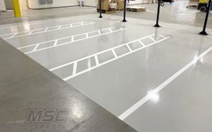 Novolac Epoxy used in Battery Charging Area