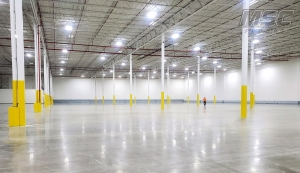 109,000 sq/ft Polish Concrete in Michigan by MSC Floors