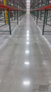 Polished Concrete Installation