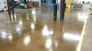 Epoxy Basecoat with Urethane Flooring System