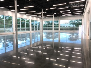 Polished Concrete Flooring in Commercial Space