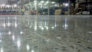 Polished Concrete with Exposed Aggregate
