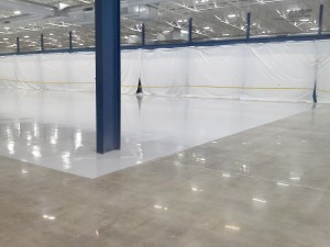 Polished Concrete Border