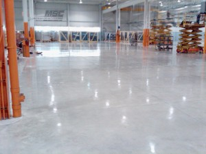Polished Concrete Light Gray