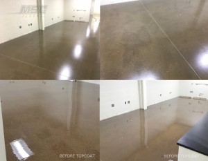 Satin Epoxy Flooring