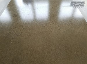Epoxy Basecoat with satin Urethane Flooring System