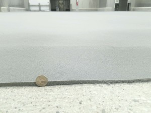 Urethane Mortar Flooring thickness