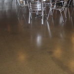 Polished Concrete with Stain