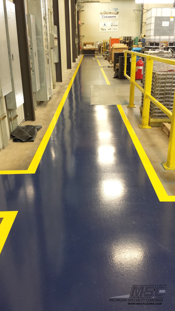 Striping floors meze blog for Industrial concrete floor cleaning services