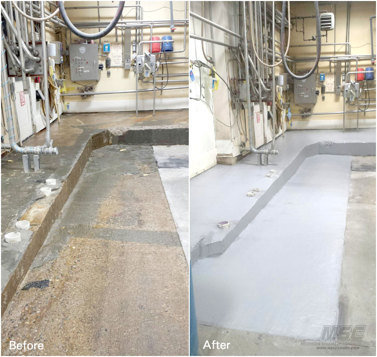 Specialty Flooring Systems : Mma floor coating systems matttroy