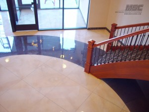 Polished Concrete at government facility