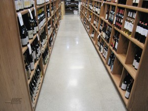 Polished Concrete in Winery
